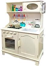 Tachan- Cocina de Madera, Color blanco (CPA Toy Group