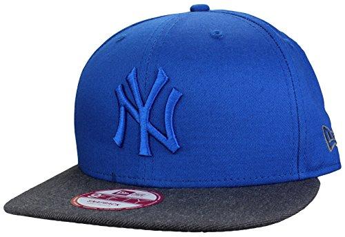 New Era Casquette New York Yankees Snapback Cap Pop Tonal en Royal/Grey | Taille: S/M