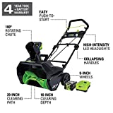 Greenworks 80 Volt Snowblower
