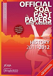 History Higher Sqa Past Papers 2012 (Official Sqa Past Papers Higher Level: History)