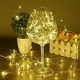 Luces LED de cuento de hadas a prueba de agua fiesta familiar luces LED luces decorativas de cadena A1 10m100 leds usb