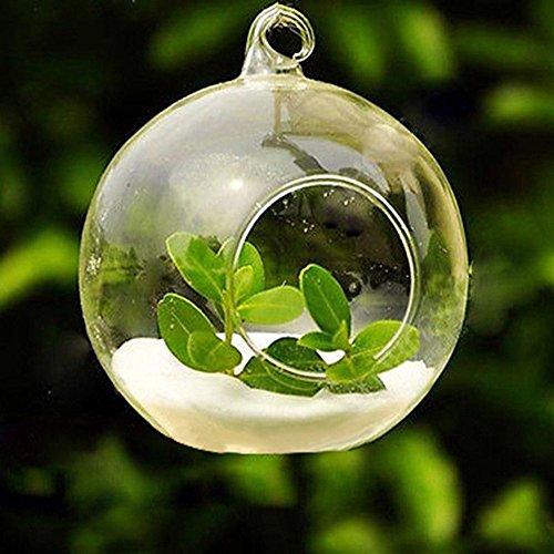 Gaddrt - Portavelas de cristal para velas de té, transparente para decoración de hogar, boda, fiesta, cena, etc., B