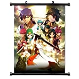 ActRaise 1 X Magi - The Labyrinth of Magic Scans Anime Fabric Wall Scroll Poster (16' X 20') Inches