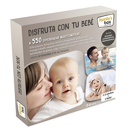 """COFRES DE EXPERIENCIAS """"DISFRUTA CON TU BEBÉ"""" - Más de 550 experiencias multitemáticas para familias con bebés"""