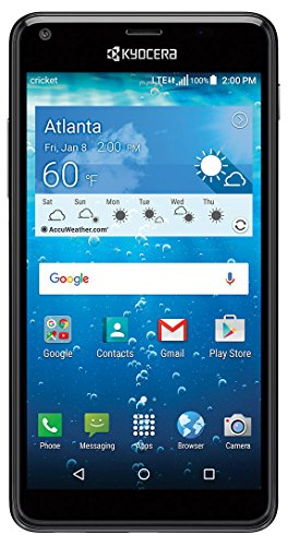 "Cricket KYOCERA Hydro View 5"" QHD Display 4G ..."