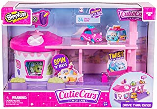 Cutie Cars Shopkins Drive Thru Diner Playset