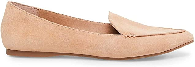 Steve Madden Women's Feather Loafer Flat