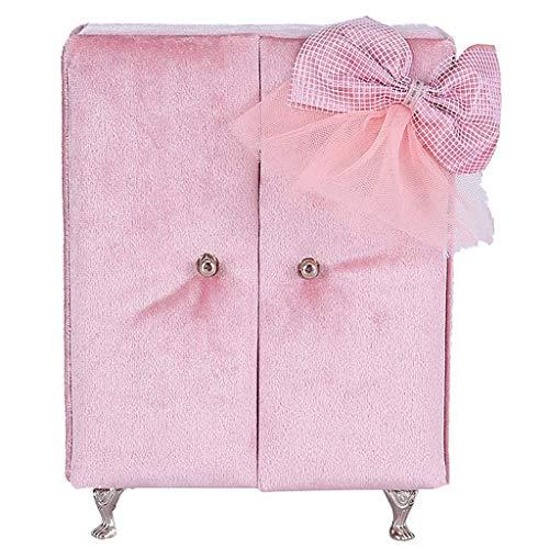 Tubayia Kreative Schrank Schmuckkästchen Schmuckschatulle Schmuck Aufbewahrungsbox Tischdeko Puppenhaus Möbel Zubehör