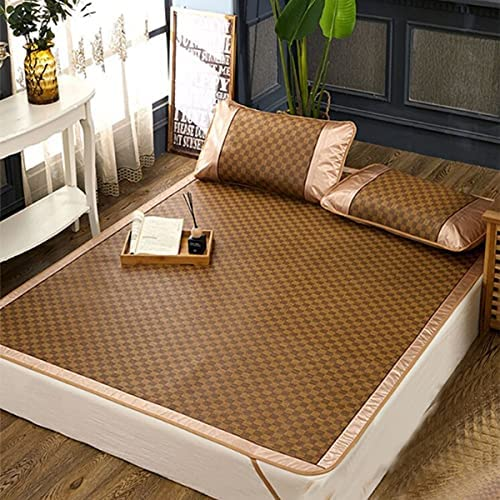 Chinese bamboo bed mat _image0