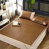 DeHasion Summer Sleeping Mat Foldable Summer Bed Mat Cool Sleeping Mattress Cooling Bed for Home School Dormitory (180cm/200cm)
