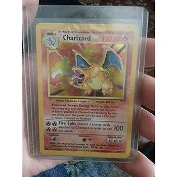 Pokemon - Charizard  4/102  - Base Set - Holo