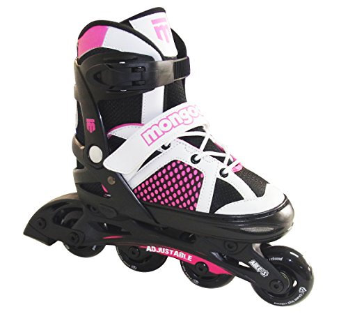 Mongoose Girl 's Inline Skate, Rose