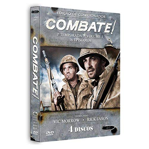 Combate 1ª Temporada Volume 1 Digibook 4 Discos