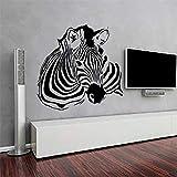 WERWN Mural Creativo de la decoración del hogar del Animal del Vinilo del Arte de la Sala de Estar