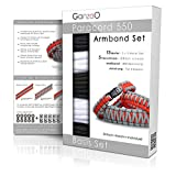 Paracord 550 Kit de bricolage pour bracelets DIY
