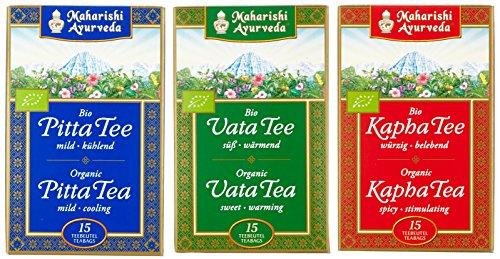 Maharishi Ayurveda Vata, Pitta, Kapha Tee biologisch (3 x 15 Teebeutel)
