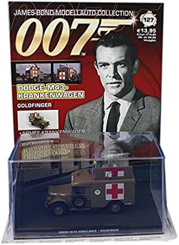 007 James Bond Car Collection  127 Dodge M43 ambulance (Goldfinger)