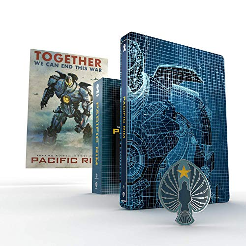 Pacific Rim - Titans of Cult Limited Edition Steelbook (4K Ultra HD + Blu-Ray)