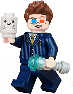 Custom Printed Toy Figure - 10th Doctor Figurine with Sonic Screwdriver and Accessories