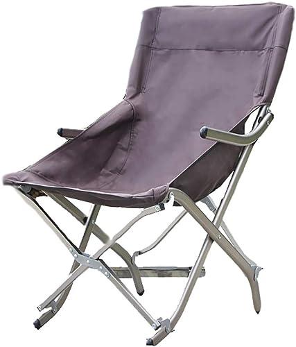 LIPAI Klappstuhl Aluminium Klapptisch Angeln Stuhl Benutzerdefinierte Mehrzweck Angeln Stuhl Angeln Hocker Im Freien Freizeit Angeln Stuhl Braun 36  48  83 cm