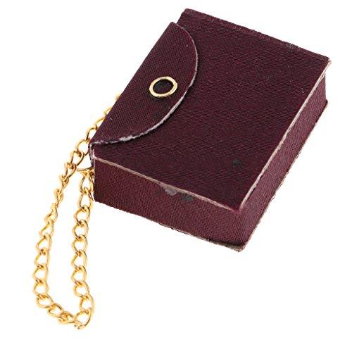1:12 Juguete Accesorios de Manera de Casa de Muñeca Miniatura Decoración - Bolso, 1 Pieza