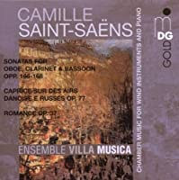 Saint-SaA≪ns: Chamber Music for Wind Instruments by Ensemble Villa Musica (1999-07-20)