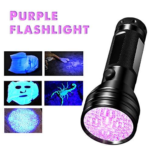 zNLIgHT gebruik voor draagbare 51 LEDs UV licht detectie fakkel lamp huisdier urine Checker zaklamp, Als afbeelding