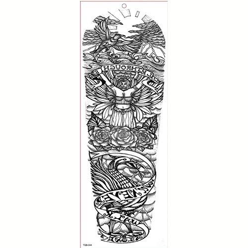 FBXSK Tatuaggio Manica Grande Braccio Impermeabile Tatuaggio Temporaneo Adesivo Elfo Shantou Farfalla Uomini Fiore Pieno Tatoo Body Art Tattoo Girl