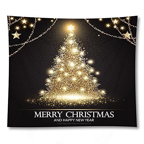 PPOU Manta de Navidad Impresa en 3D Divertido patrón de Perro Animal Regalo Tapiz montado en la Pared Tapiz de Tela de Fondo para el hogar A22 73x95cm