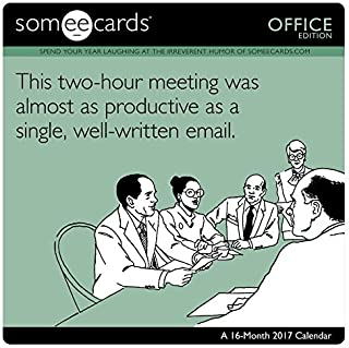 Someecards - Office Wall Calendar (2017) by Day Dream (2016-07-01)