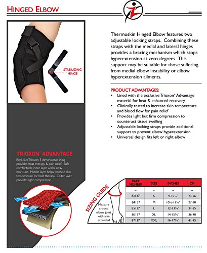 Thermsokin Hinged Elbow Support, Medium