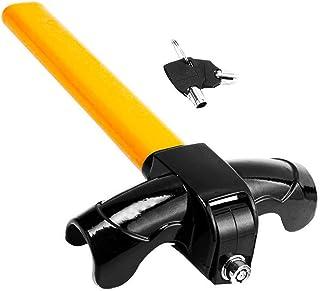 Anti-Theft Car Steering Wheel Lock - Zento Deals Premium Quality Strong Durable Wheel Lock Cylinder Key Heavy Duty
