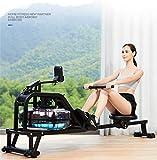 liying Indoor Rudergerät Fitness Cardio Workout Wasserbeständigkeit Rudergerät - 6