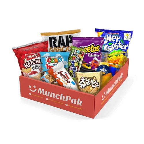 Snack Box from around the world - Care Package (10 Count)