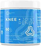 Life Renew: Knee & Joint Renew - Advanced Joint Support Supplement - 60 Capsules - Helps Relieve Joint Pain - Has Meriva Turmeric Curcumin, Hyaluronic Acid, Collagen, Boswella Serrata