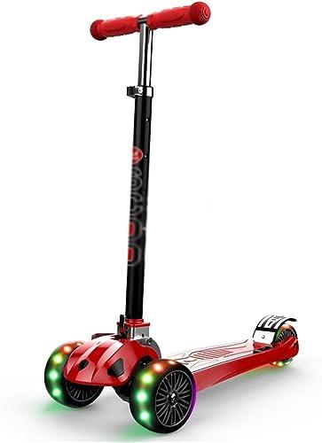 HAOJUN Kinderroller 3 Jahre Alt und 6 Jahre Alt Baby 3 Runden Scooter