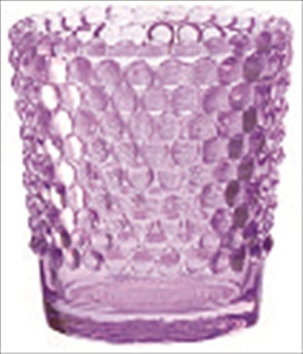 風変わりなマトン魅惑的なカメヤマキャンドル( kameyama candle ) ホビネルグラス 「 アメジスト 」