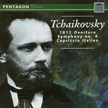 Tchaikovsky: 1812 Overture - Symphony No. 4 - Capriccio Italien