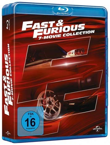 Fast & Furious - 1-7 Movie Limited Collection inkl. Actiongeladener Bonus Disc - Blu-ray