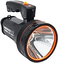 GLJJQMY Searchlight Rechargeable 7000 Lumens Super Bright LED Searchlight Spotlight Flashlight Flashlight Light with Sharp...