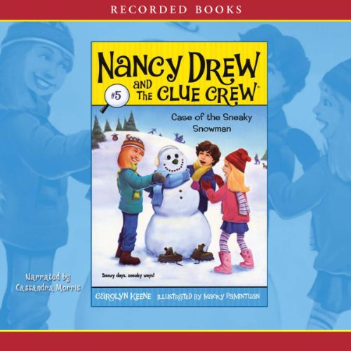 The Case of the Sneaky Snowman audiobook cover art