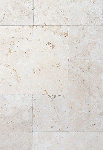 Tegel Travertin natuursteen, beige, tegels, Romeinse verband, chiaro, antiek, voor vloer, wand, badkamer, toilet, keuken, tegelspiegel, tegelverkleding, badkuip, mozaïekmat mozaïekplaat