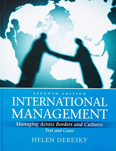 International Management Managing Across Borders And Culture