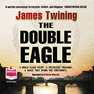 The Double Eagle audiobook cover art