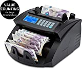 ZZap NC20i Banknote Counter & Counterfeit Detector - Counts 1000 banknotes per Minute, Batch Counting, 5-fold...
