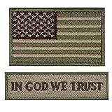 ELLEWIN Tactical Morale Patch USA Flag Don't...