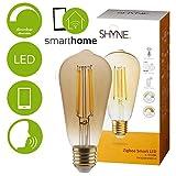 Shyne Smart Filament LED Leuchtmittel, abstimmbares weißes Licht, 1800K -...
