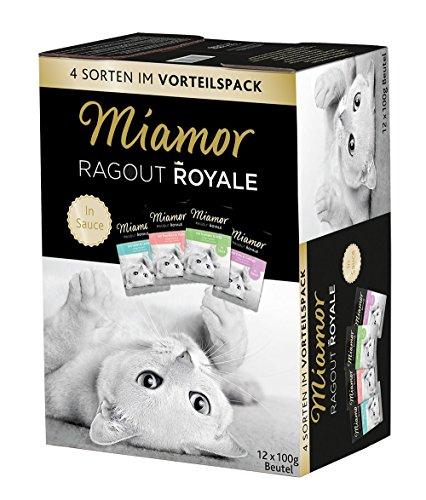 Miamor Ragout Royale Fisch-/Fleischvielfalt in Sauce Multibox 12x100g