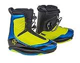 RONIX One Botas de Wakeboard, Hombre, Amarillo (Optic Yellow/Anodized Azure), 41