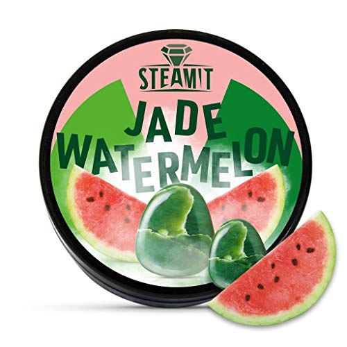 SteamIt Tabak Ersatz Dampfsteine - Shisha Steam Stones - nikotinfreier Tabakersatz für Wasserpfeifen (Watermelon)